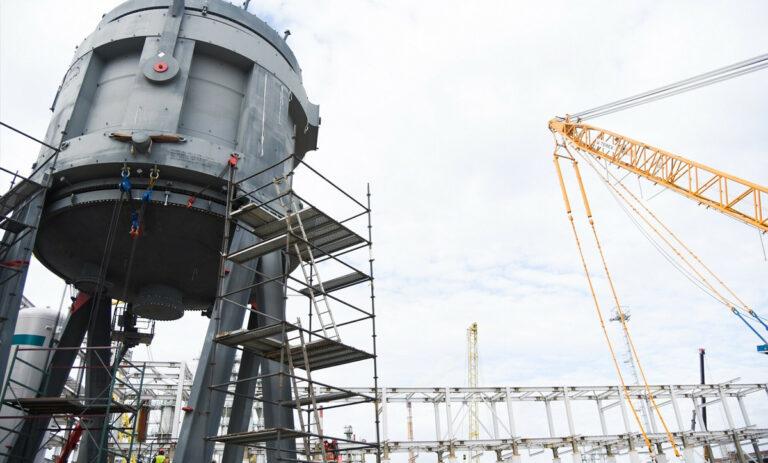 Инжиниринговое сопровождение строительного комплекса МАН (малеиновый ангидрид) г. Тобольск